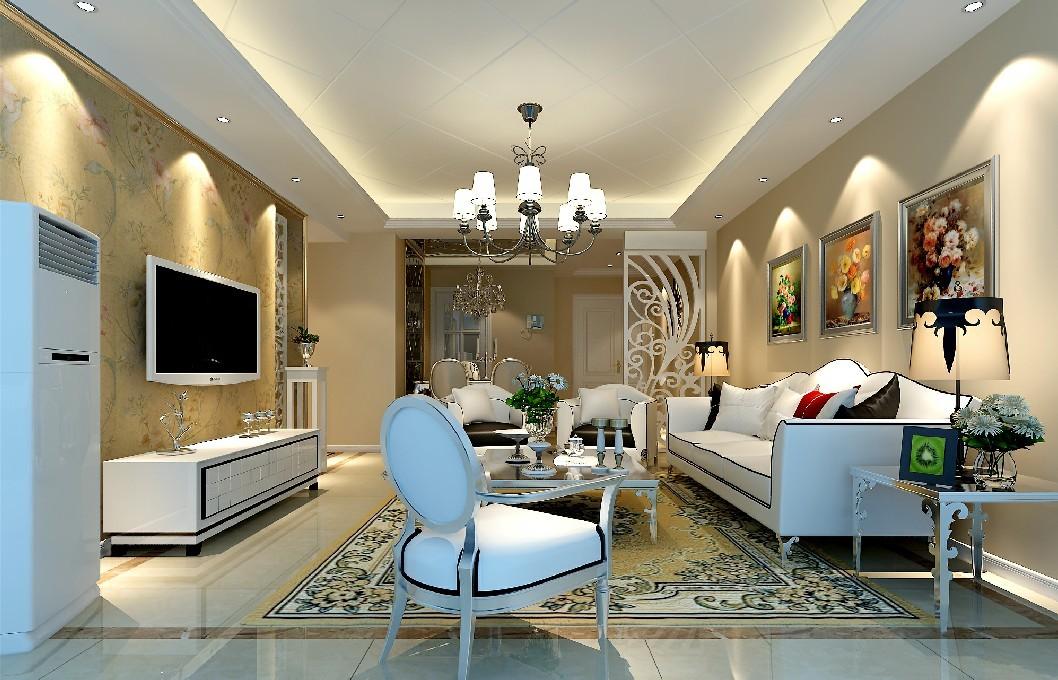 戛纳湾滨江8栋88平方现代风格装修设计效果图