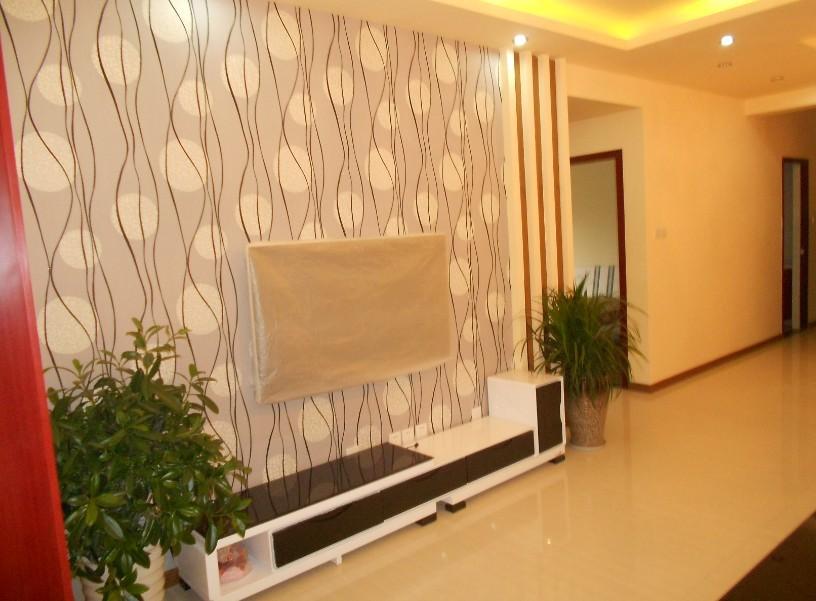正成拉斐现代风格客厅装修设计实景图