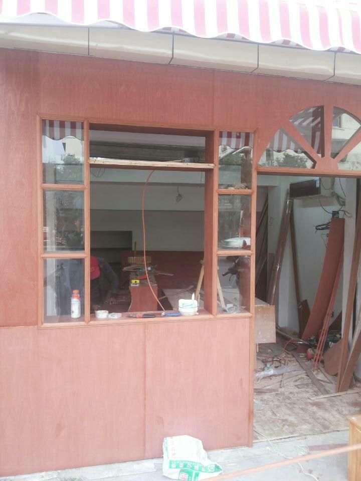 8平米奶茶店装修施工现场以及完工效果图 感谢业主对我们的信任 16
