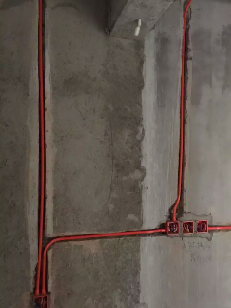 橡树湾顶楼跃层装修效果图施工图水电改造图